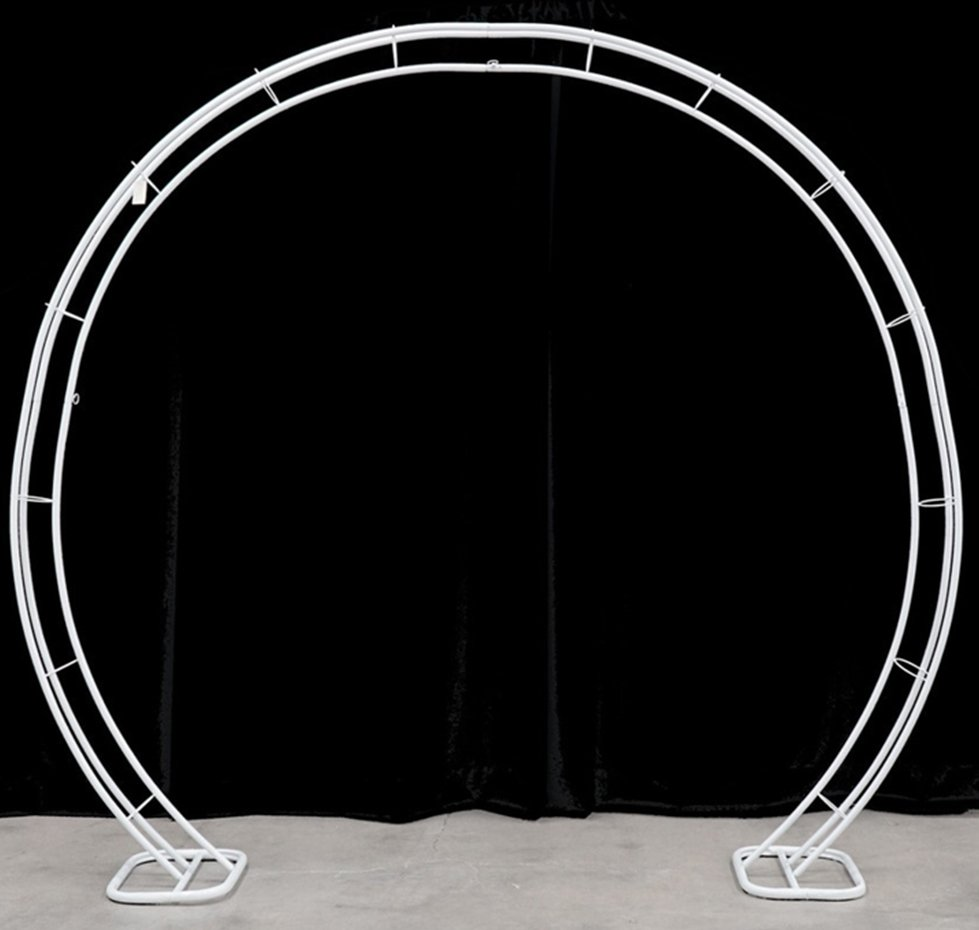 Elevated Impressions Metal Round Arch